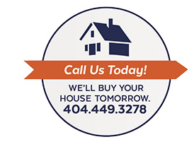 Call us today! We'll buy your house tomorrow.